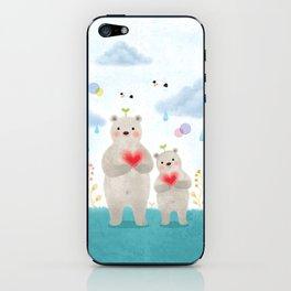warm heart iPhone Skin