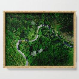 Jungle Roads Serving Tray