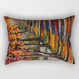 Autumn Tranquility Rectangular Pillow