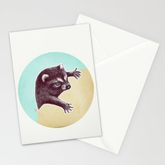 Climbing Raccoon Stationery Cards