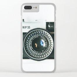 Trip Clear iPhone Case