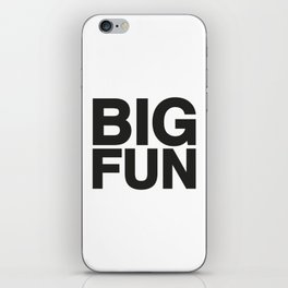 BIG FUN iPhone Skin