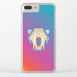 Skull of Sol for CheshireSol TwitchTV Clear iPhone Case