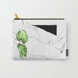 GreenHair Carry-All Pouch