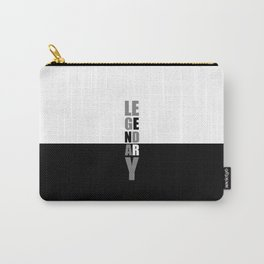 Leg Day.. Gym Motivational Quote Carry-All Pouch