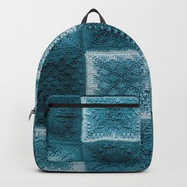 Teal real Backpack