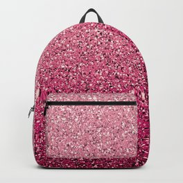Pink Ombre Glitter Backpack