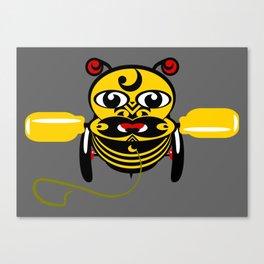 Hei Tiki Bee Toy Canvas Print