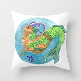 Capicorn Throw Pillow