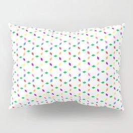 Colour Specks on White Pillow Sham