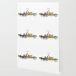 San Antonio Skyline Silhouette Wallpaper