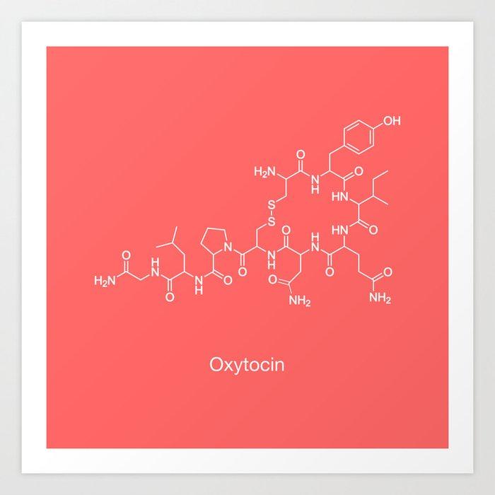 Oxytocin Art Print