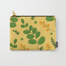 Pattern textile flowers Carry-All Pouch