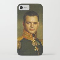 replaceface iPhone & iPod Cases featuring Matt Damon - replaceface by replaceface