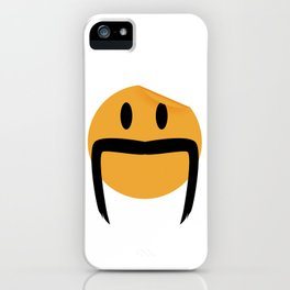 Moustache 06 iPhone Case