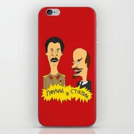 Lenin and Stalin iPhone Skin