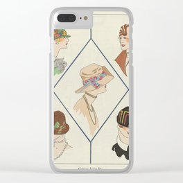 Art - Taste - Beauty, notepads of feminine elegance, February 1926, No. 66, 6th Year, p. 23 anonymou Clear iPhone Case