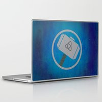 thor Laptop & iPad Skins featuring Thor by Some_Designs
