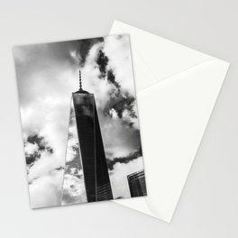 Freedom Tower B/W Stationery Cards