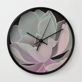 violet night Wall Clock