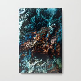 A Sudden Freeze Metal Print