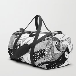 Gustav Klimt - Fish blood Duffle Bag