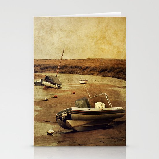 Blakeney Boats 2 Stationery Cards