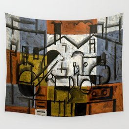 Joaquin Torres Garcia Constructive Painting V Wall Tapestry