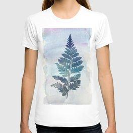 fern on waterfolor T-shirt