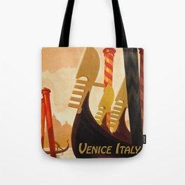 Venice Italy Vintage Travel Tote Bag