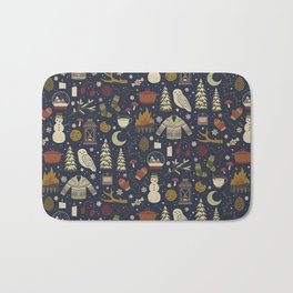 Winter Nights Bath Mat