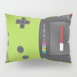 Gameboy Color (green) Pillow Sham