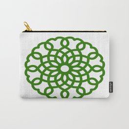 Celtic Heart Pattern Carry-All Pouch