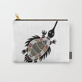 Aboriginal Art - Echidna Carry-All Pouch