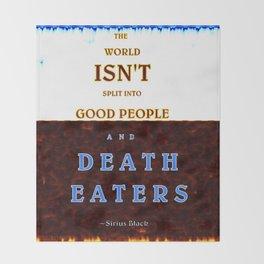 Good & Death Eater Throw Blanket