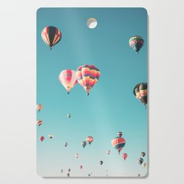 Hot Air Balloon Ride Cutting Board
