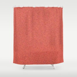 LIVING CORAL SPARKLES Shower Curtain