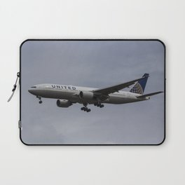 United airlines Boeing 777 Laptop Sleeve
