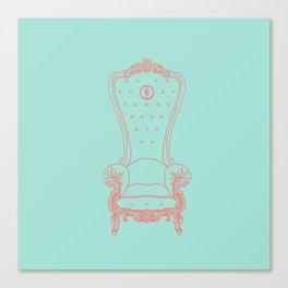 Open Throne Canvas Print