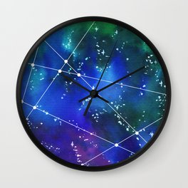 Deep in space Wall Clock