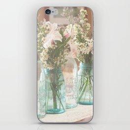 Vinage Mason Jar Photograph iPhone Skin