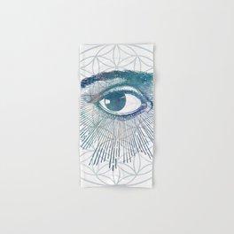 Mandala Vision Flower of Life Hand & Bath Towel