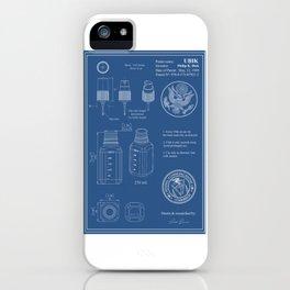 UBIK Blueprint iPhone Case