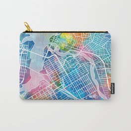 ottawa map watercolor Carry-All Pouch