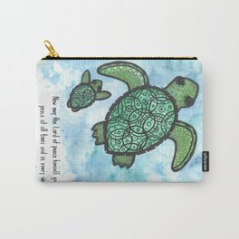 A peaceful swim Carry-All Pouch