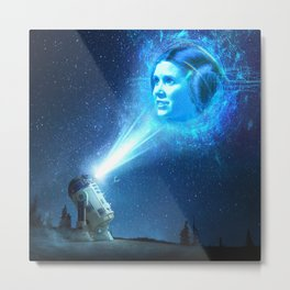 Our Lady of Stars Metal Print