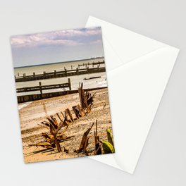 Beach in Summer Stationery Cards