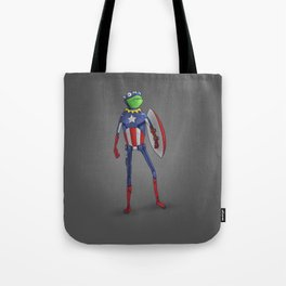 Captain Kermit Tote Bag