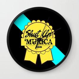 Shut Up 'Murica Wall Clock