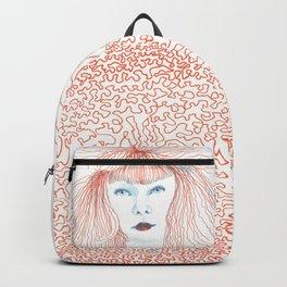 Weird poodles - Ginger dye Backpack